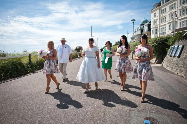 Tabitha and Daniel real wedding in Bournemouth