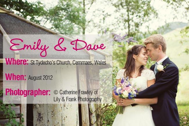 Emily Dave Real Wedding
