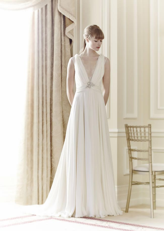 Wedding dress: Molly by Jenny Packham
