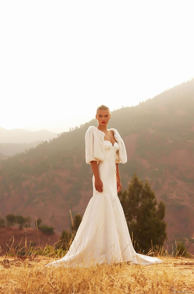 Wedding dress: Morocco by Amanda Wakeley