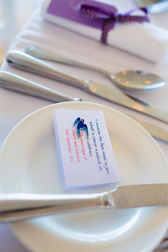 cancer research wedding favours jamesdavidson