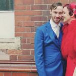 colourful wedding dress featured