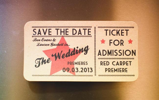 Ticket Date Reminder - 6 Mistakes of Sending Save the Date Cards