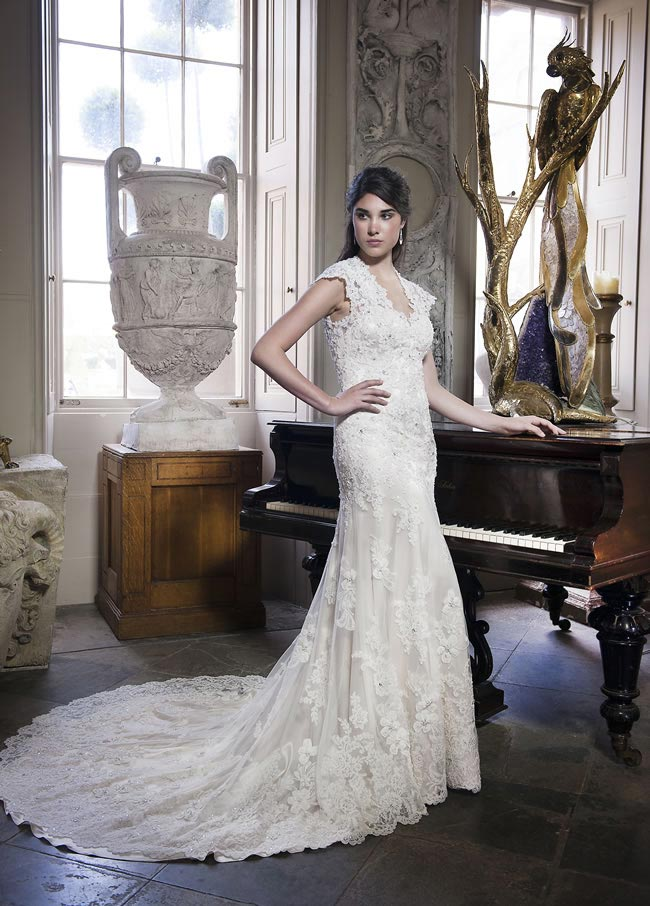 Alexia Designs 2014 collection style W405