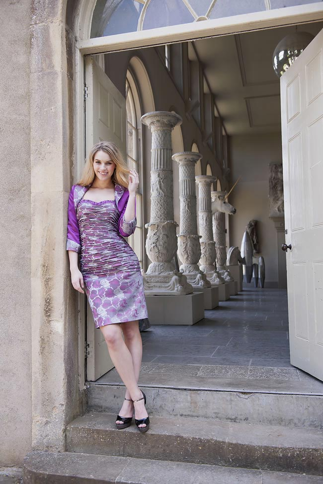 Alexia Designs mother of the bride style M070