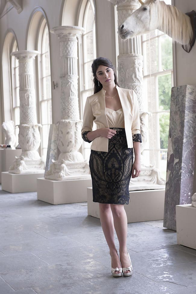 Alexia Designs mother of the bride style M085 jacket
