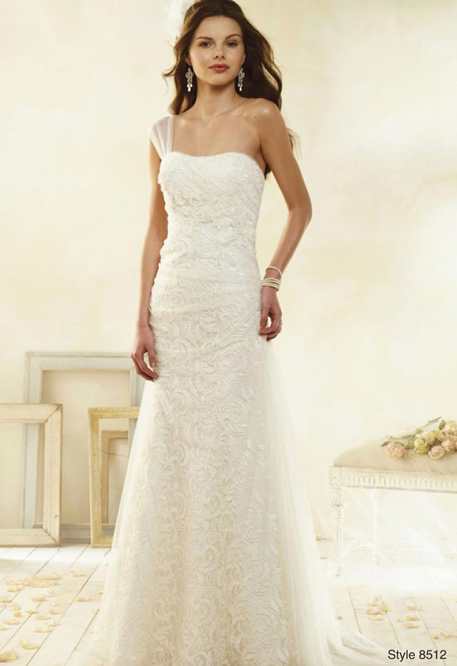 Alfred Angelo Modern Vintage style 8512