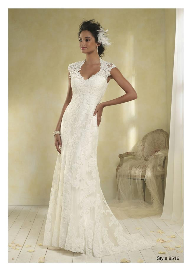 Alfred Angelo Modern Vintage style 8516