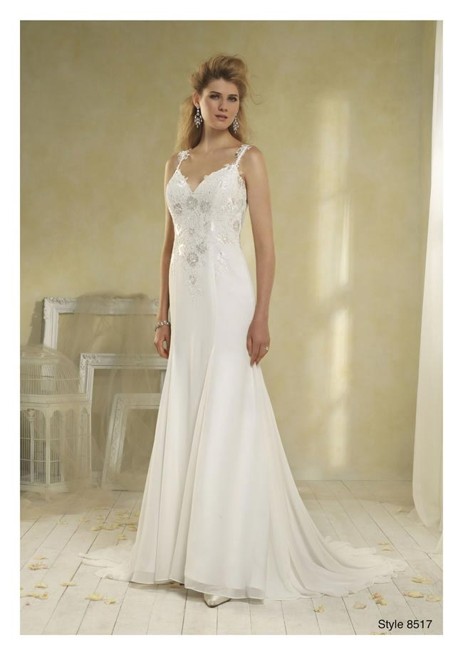 Alfred Angelo Modern Vintage style 8517