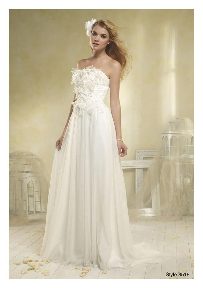 Alfred Angelo Modern Vintage style 8518