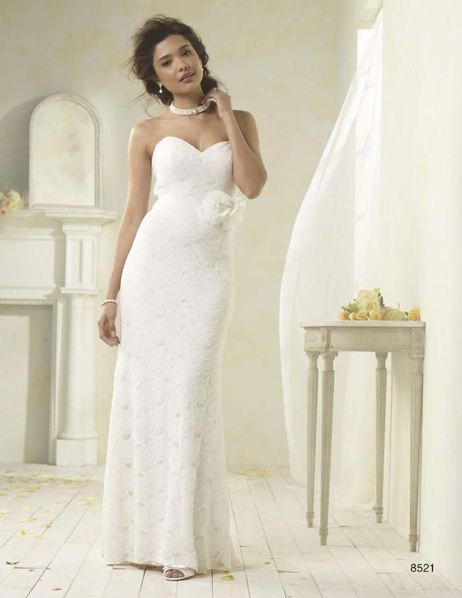 Alfred Angelo Modern Vintage style 8521