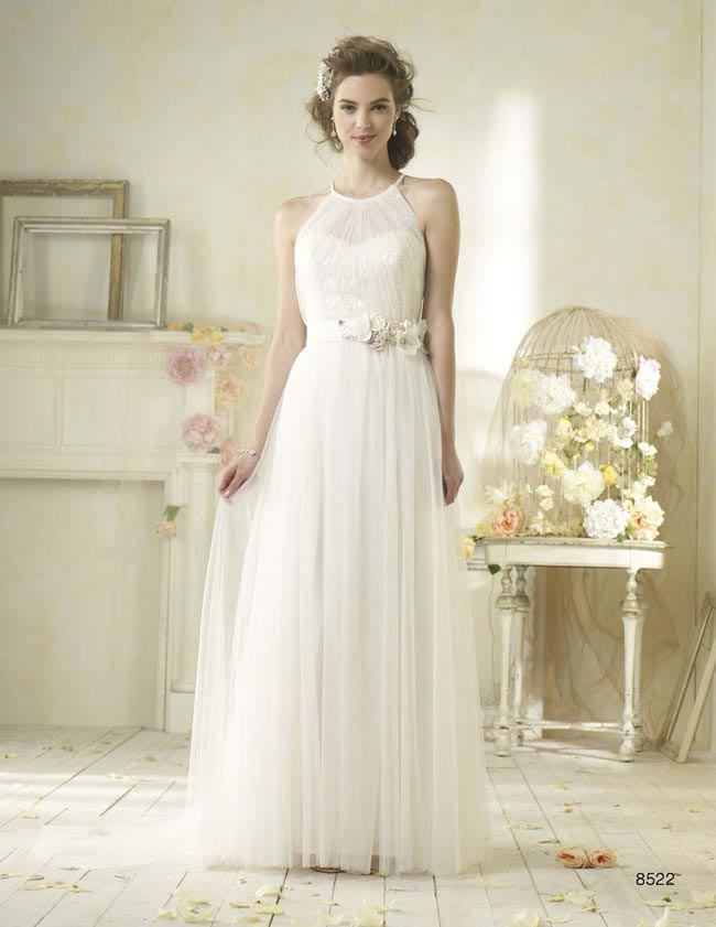 Alfred Angelo Modern Vintage style 8522