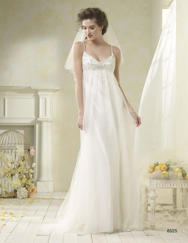 Alfred Angelo Modern Vintage style 8525