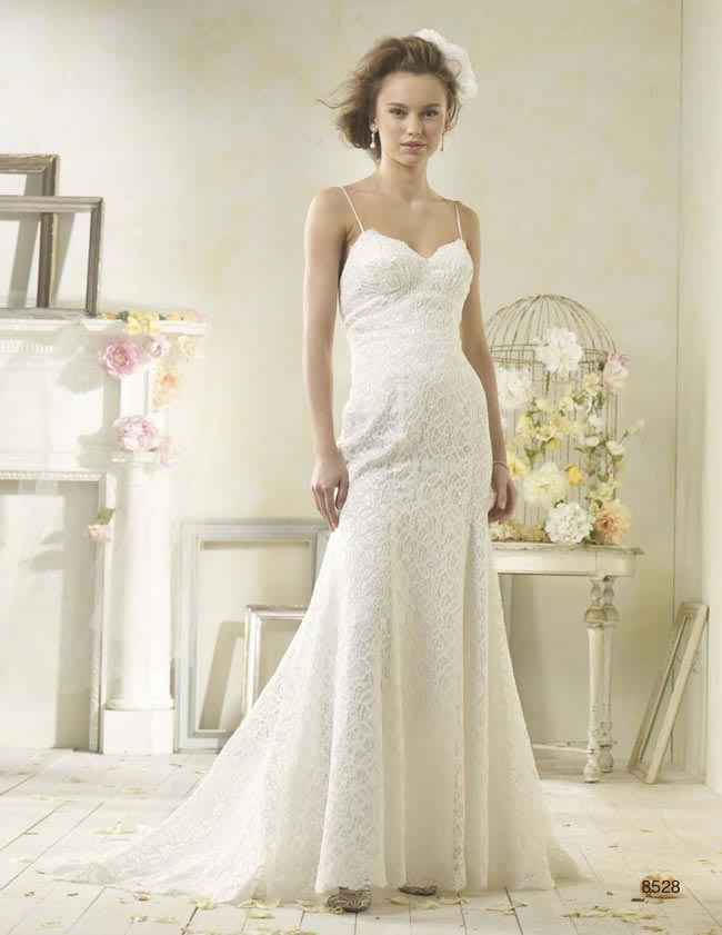 Alfred Angelo Modern Vintage style 8528