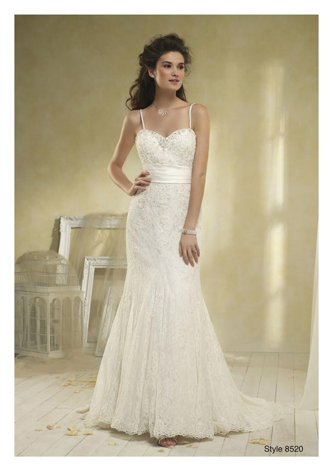Alfred Angelo modern vintage collection style 8520