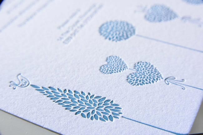 Baytree wedding stationery
