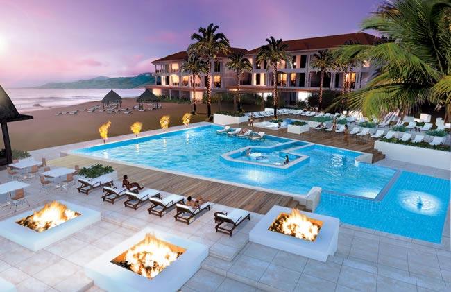 Grenada Infinity pool rendering