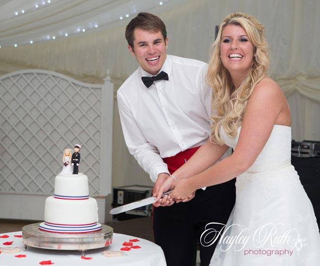 Leanne Ross Hero's Wedding
