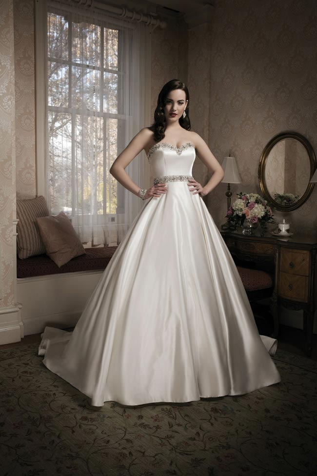Justin Alexander 2014 wedding dress collection style 8680