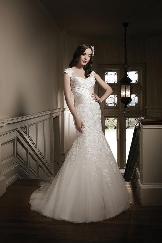 Justin Alexander 2014 wedding dress collection style 8681