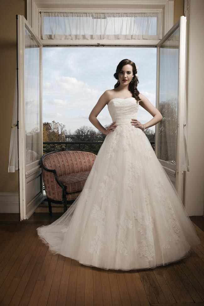Justin Alexander 2014 wedding dress collection style 8682