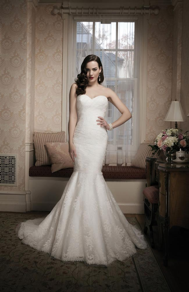 Justin Alexander 2014 wedding dress collection style 8683