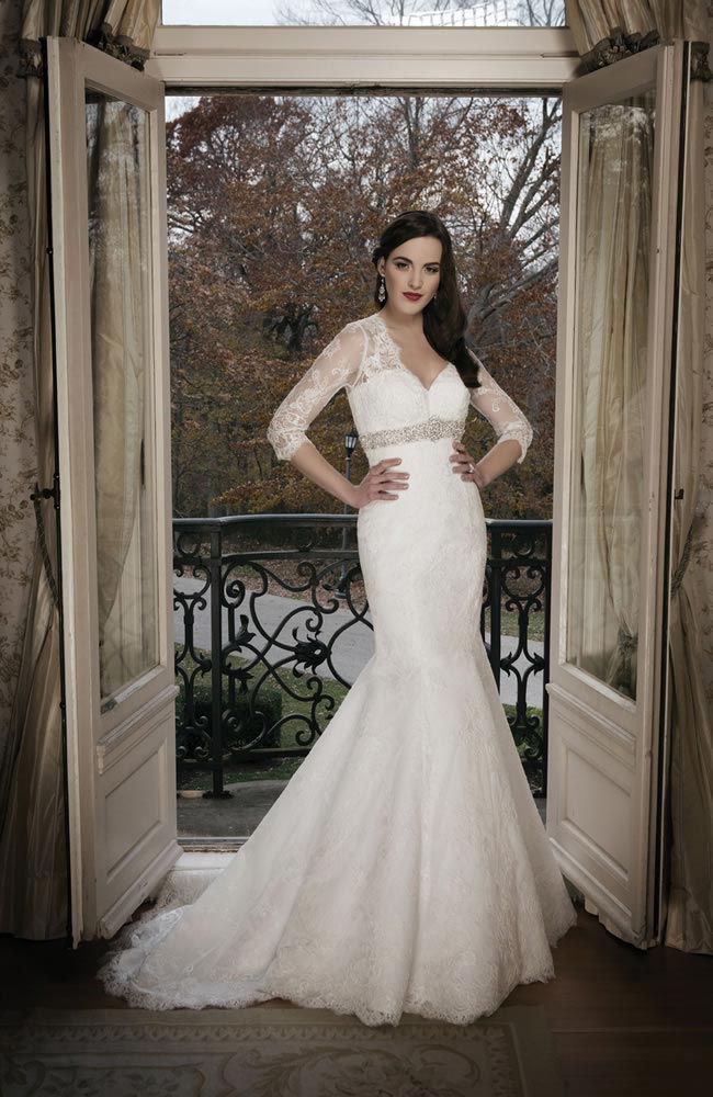 Justin Alexander 2014 wedding dress collection style 8684