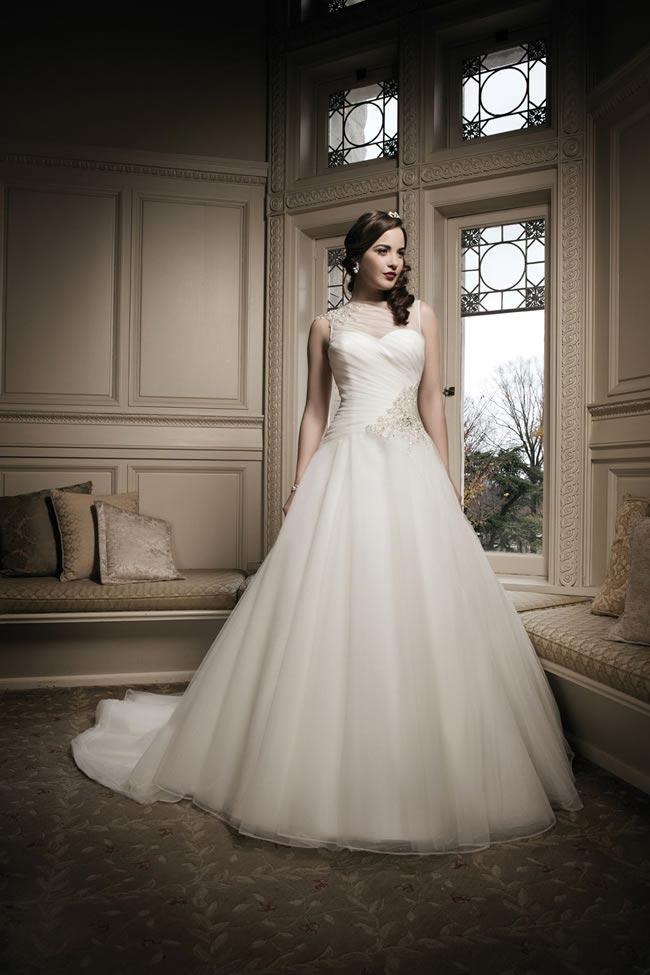 Justin Alexander 2014 wedding dress collection style 8685