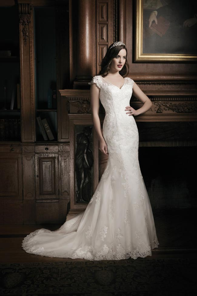 Justin Alexander 2014 wedding dress collection style 8686