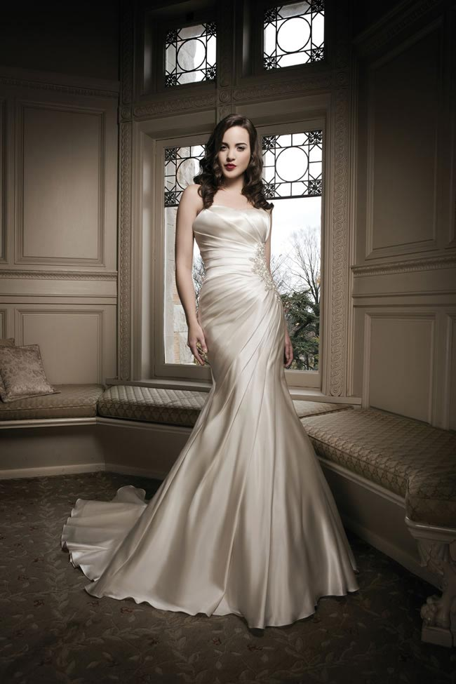 Justin Alexander 2014 wedding dress collection style 8687