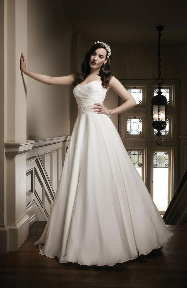 Justin Alexander 2014 wedding dress collection style 8690