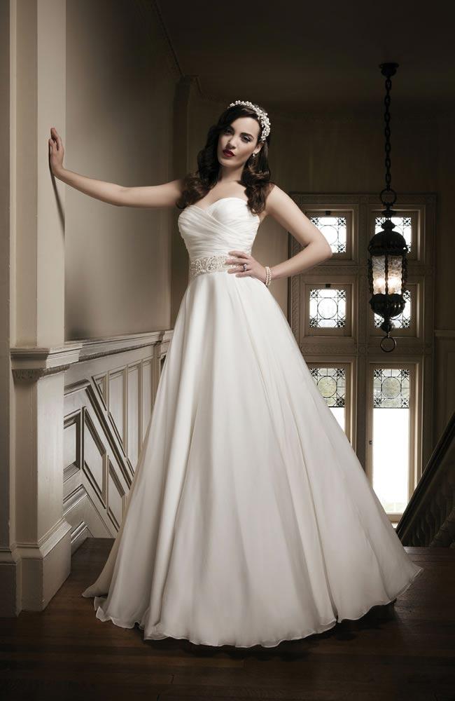 Justin Alexander 2014 wedding dress collection style 8690