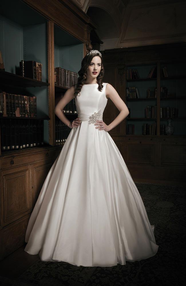Justin Alexander 2014 wedding dress collection style 8694