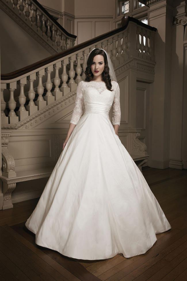 Justin Alexander 2014 wedding dress collection style 8695