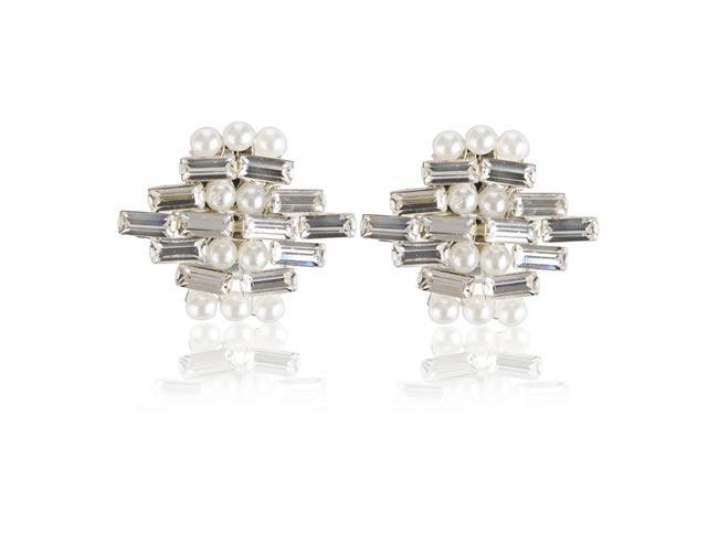 Rachel Simpson 2014 collection style Deco diamond shoe clips 426