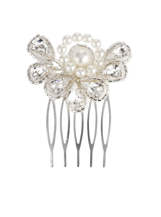 Rachel Simpson 2014 collection style Deco fan haircomb 428