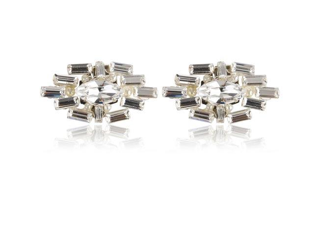 Rachel Simpson 2014 collection style Deco oval shoe clips 425