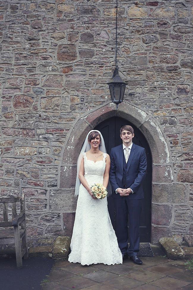 Rebecca Nick real wedding 12