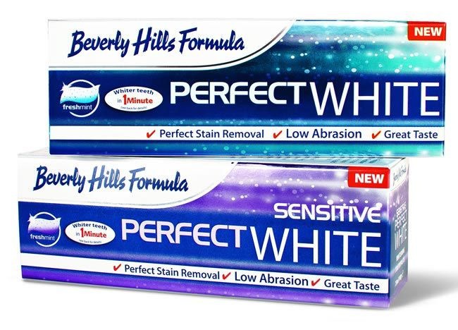 beverly hills perfect white toothpaste