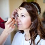 wedding eye make-up navyblur