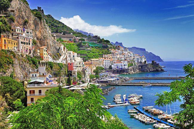 6.Amalfi Coast, Italy