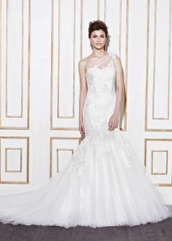 Blue by Enzoani style Galion