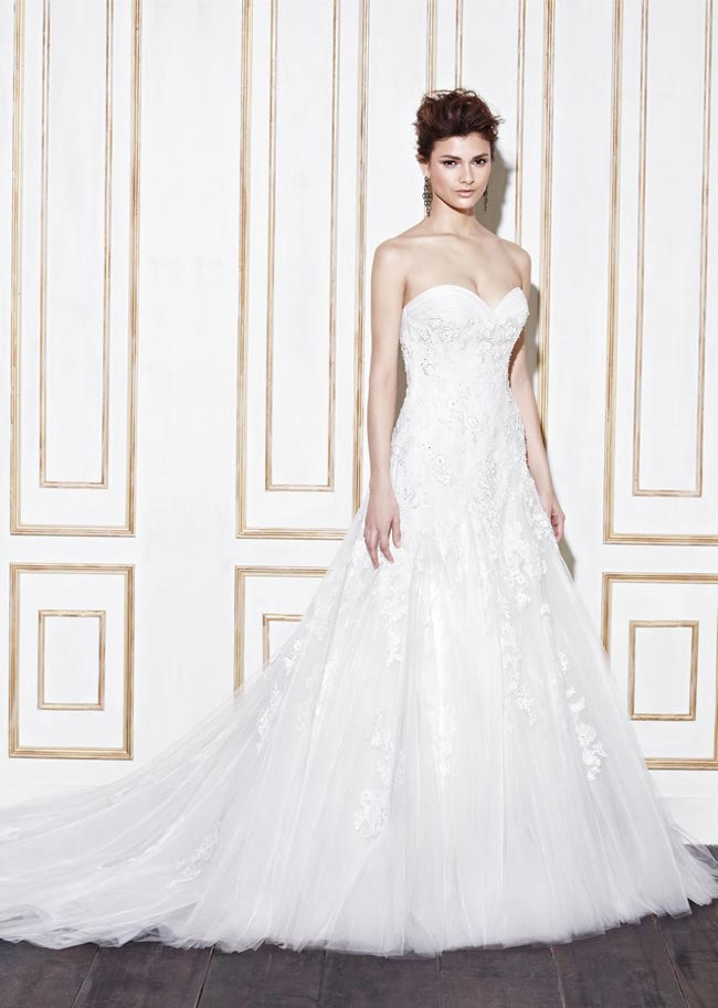Blue by Enzoani style Ganes