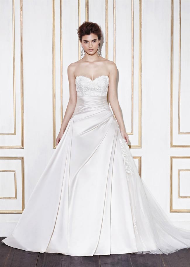 Blue by Enzoani style Ghent