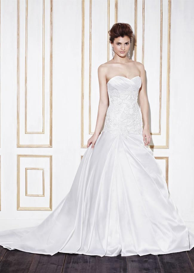 Blue by Enzoani style Gillam