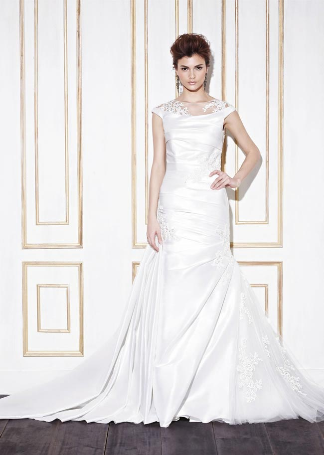 Blue by Enzoani style Giona