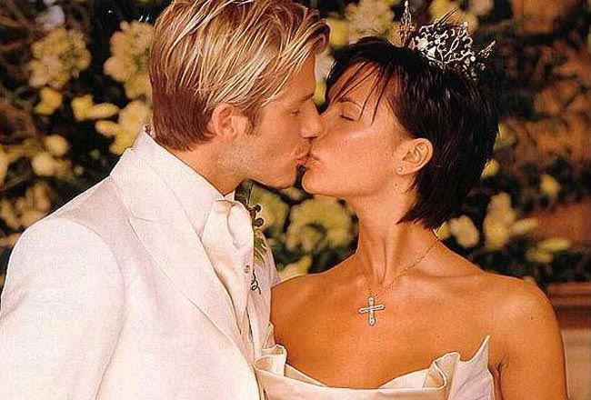 beckhams wedding