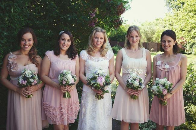 ombre bridesmaids devlinphotos