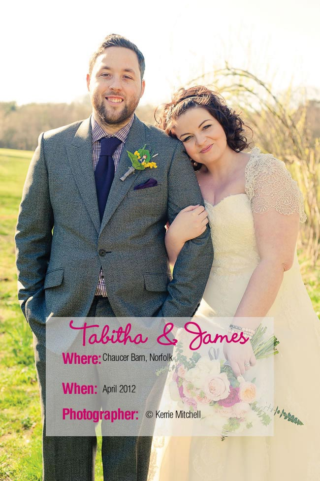 7d78a2a4285 A wonderful DIY wedding bursting with colour from Tabitha and James