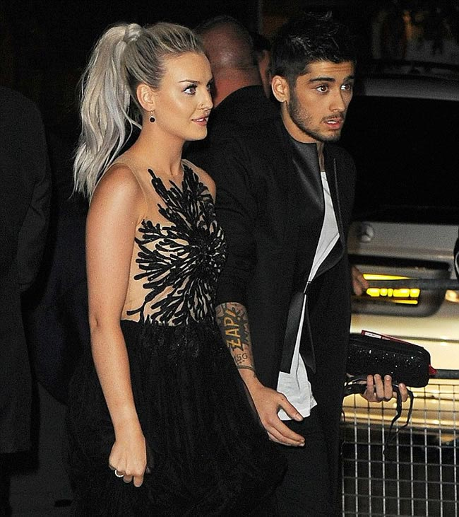 zayn perrie engagement